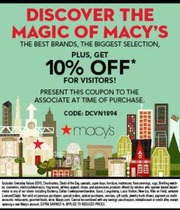 Macy's 10% Promo Code